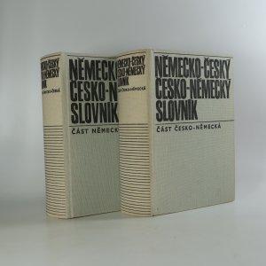 náhled knihy - Německo-český, česko-německý slovník (2 svazky)