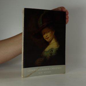 náhled knihy - Gemäldegalerie Dresden. Alte Meister