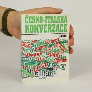 náhled knihy - Česko-italská konverzace