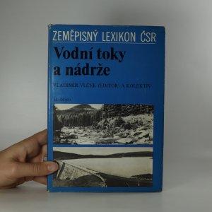náhled knihy - Vodní toky a nádrže