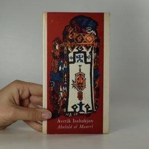 náhled knihy - Abulalá al Maarrí