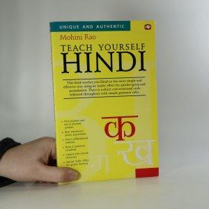 náhled knihy - Teach yourself Hindi