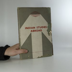náhled knihy - Indian studies abroad