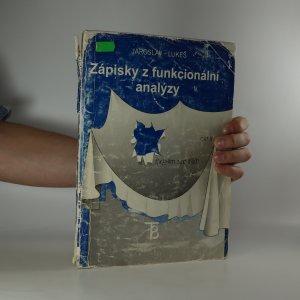 náhled knihy - Zápisky z funkcionální analýzy