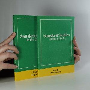 náhled knihy - Sanskrit Studies in the G.D.R.