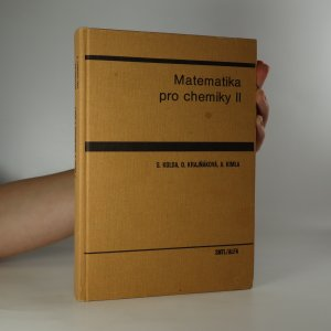 náhled knihy - Matematika pro chemiky II