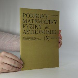 náhled knihy - Pokroky matematiky, fyziky a astronomie. Ročník 39. Číslo 5.