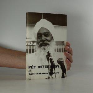 náhled knihy - Pět interview se Sant Thakarem Singhem