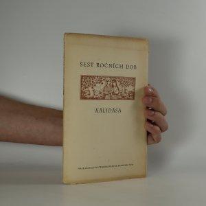 náhled knihy - Kálidása. Šest ročních období (listy volně v deskách)