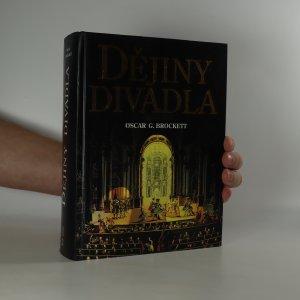 náhled knihy - Dějiny divadla