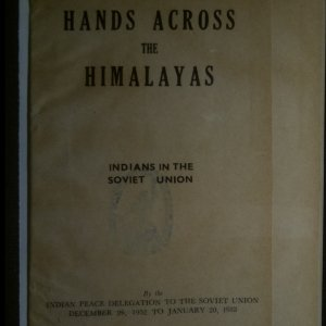 antikvární kniha Hands across the Himalayas, 1953