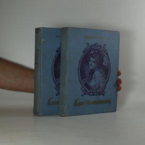 náhled knihy - Lady Hamiltonová I. a II. díl (2 svazky, komplet)