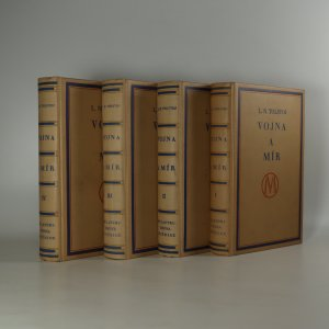náhled knihy - Vojna a mír I.-IV. díl (4 svazky, komplet)