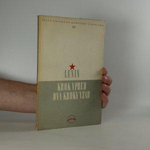 náhled knihy - Krok vpřed, dva kroky vzad. Krise v naší straně