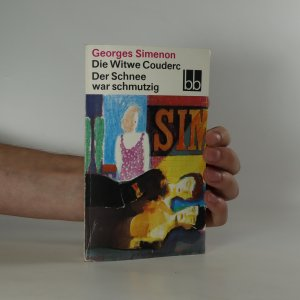 náhled knihy - Die Witwe Couderc. Der Schnee war schmutzig