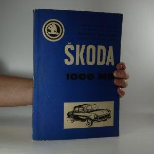 náhled knihy - Škoda 1000 MB. Seznam náhradních dílů