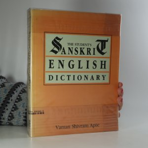 náhled knihy - The Student's Sanskrit-English Dictionary