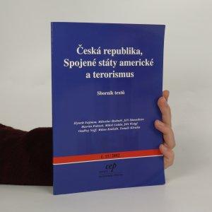 náhled knihy - Česká republika, Spojené státy americké a terorismus (č. 15/2002)