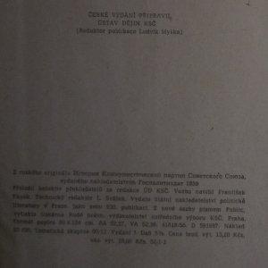 antikvární kniha Dějiny Komunistické strany Československa : program [studijního] předmětu, 1959