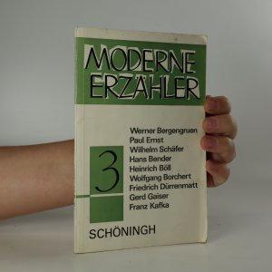 náhled knihy - Moderne Erzähler