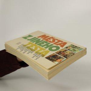 antikvární kniha Města z jiného těsta, 1987