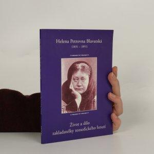 náhled knihy - Helena Petrovna Blavatská (1831-1891)