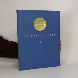 náhled knihy - Souborná díla Bedřicha Smetany. Prodaná nevěsta I