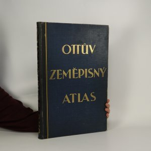 náhled knihy - Ottův zeměpisný atlas