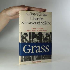 náhled knihy - Über das Selbstverständliche
