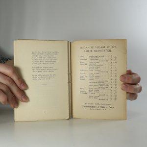 antikvární kniha Dvě básně výpravné, 1903