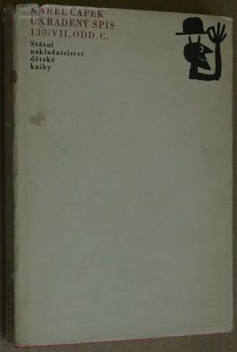 náhled knihy - Ukradený spis 139/VII, odd. C : výbor z próz Karla Čapka