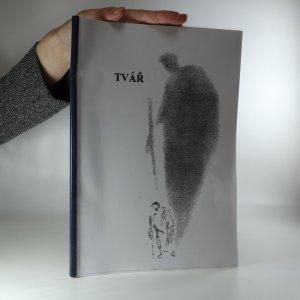 náhled knihy - Tvář (možná věnování autora)
