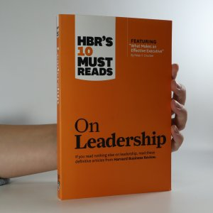 náhled knihy - On leadership. Harvard Business Review's ten must reads