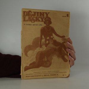 náhled knihy - Dějiny lásky (sv. 9.)