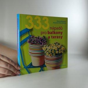 náhled knihy - 333 nápadů pro balkony a terasy