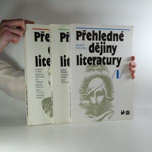 náhled knihy - Přehledné dějiny literatury (3 svazky)