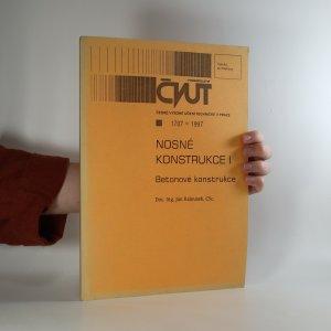 náhled knihy - Nosné konstrukce I. Betonové konstrukce