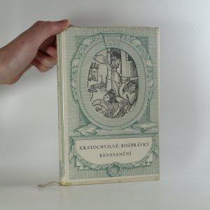 náhled knihy - Kratochvilné rozprávky renesanční. Výbor facetií 16. století