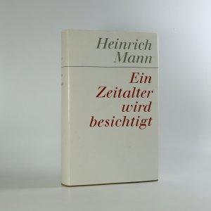 náhled knihy - Ein Zeitalter wird besichtigt