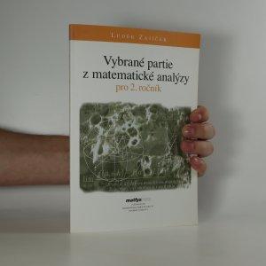 náhled knihy - Vybrané partie z matematické analýzy pro 2. ročník
