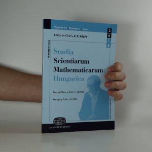 náhled knihy - Studia Scientiarium Mathematicarum Hungarica. Volume 55. Number 2