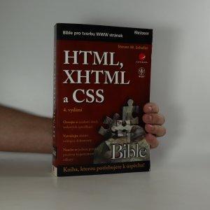 náhled knihy - HTML, XHTML a CSS. Bible pro tvorbu WWW stránek