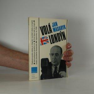 náhled knihy - Jan Masaryk volá Londýn (je cítit zatuchlinou)