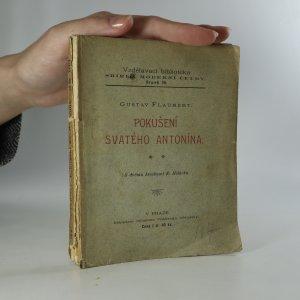 náhled knihy - Pokušení svatého Antonína