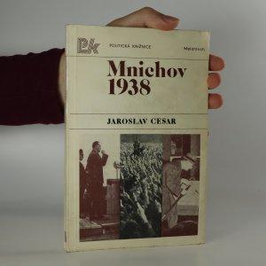 náhled knihy - Mnichov 1938 (je cítit zatuchlinou)
