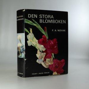 náhled knihy - Den stora blomboken. (Velká kniha květin)