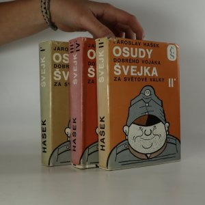 antikvární kniha Osudy dobrého vojáka Švejka za světové války (komplet, 4 díly ve třech svazcích), 1975