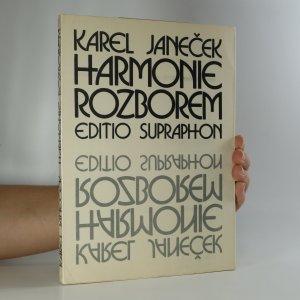 náhled knihy - Harmonie rozborem (je cítit zatuchlinou)