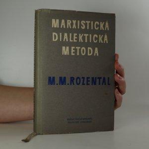 náhled knihy - Marxistická dialektická metoda