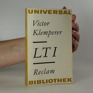 náhled knihy - LTI. Notizbuch eines Philologen